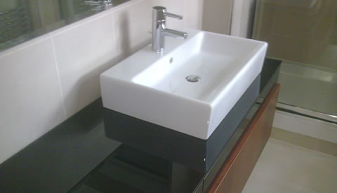 Bathrooms - toilet, sink, bath accessories